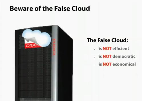 Beware False Clouds